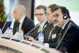 F. Marti-Scharfhausen (Chairman - CSN, ES) speaking
